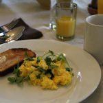 Morgan House - Breakfast Eggs and toast